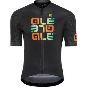 Alé Cycling Solid Mirror SS Jersey Herren black black