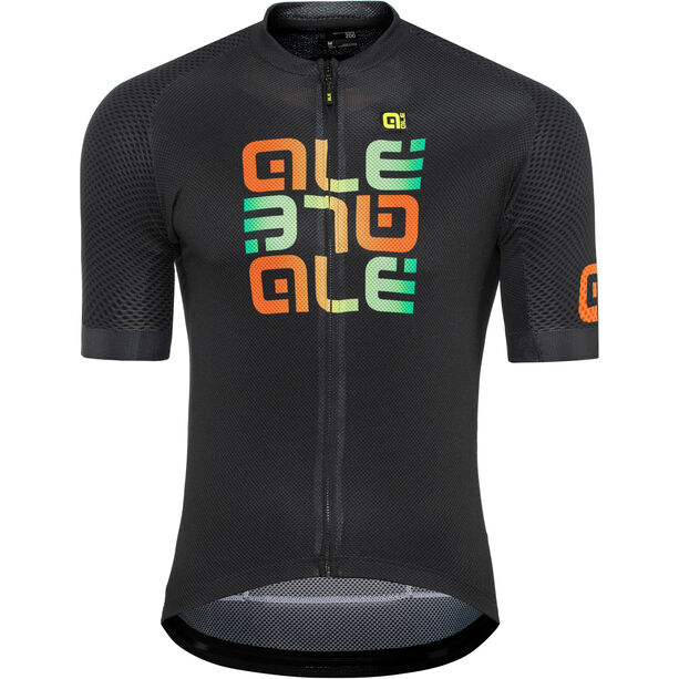 Alé Cycling Solid Mirror SS Jersey Herren black