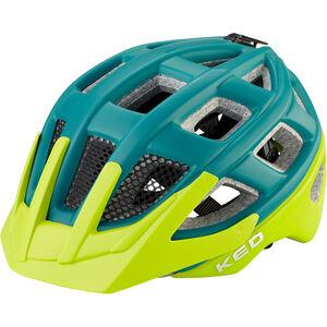 KED Kailu Helmet Kinder petrol green matt petrol green matt