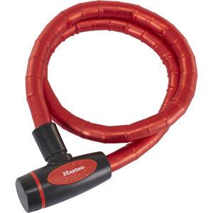 Masterlock 8228 PanzR Kabelschloss 18 mm x 1.000 mm rot rot