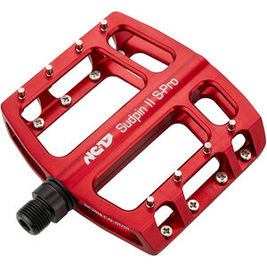 NC-17 Sudpin II S-Pro CNC Pedals rot rot