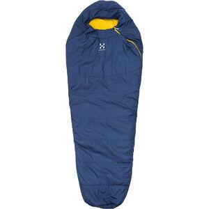 Haglöfs Tarius +6 Sleeping Bag 175 cm hurricane blue hurricane blue