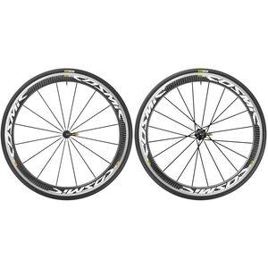Mavic Cosmic Pro Carbon 17 Laufradsatz Shimano 25 weiß weiß