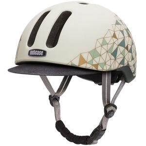 Nutcase Geo Net Matte Metroride Helmet weiß/bunt bei fahrrad.de Online