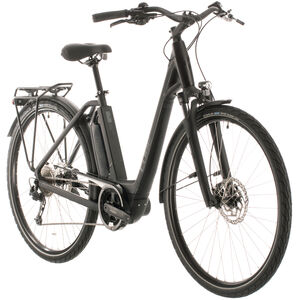 Cube Town Sport Hybrid One 400 Easy Entry black/grey black/grey