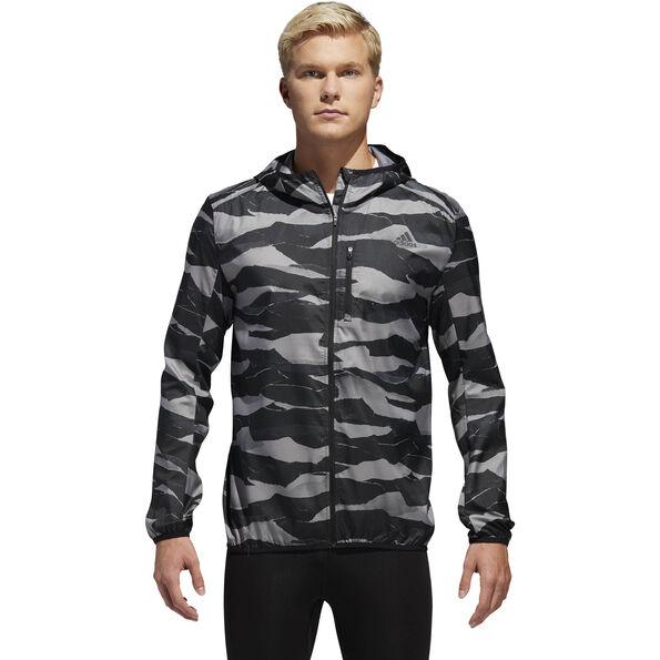 adidas Own The Run Jacket Herren grey three/black/gresix
