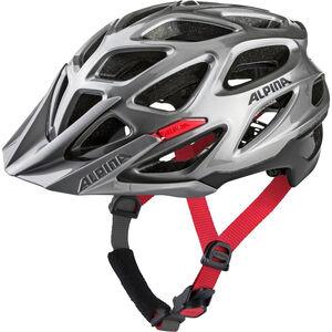 Alpina Mythos 3.0 Helmet darksilver-black-red darksilver-black-red