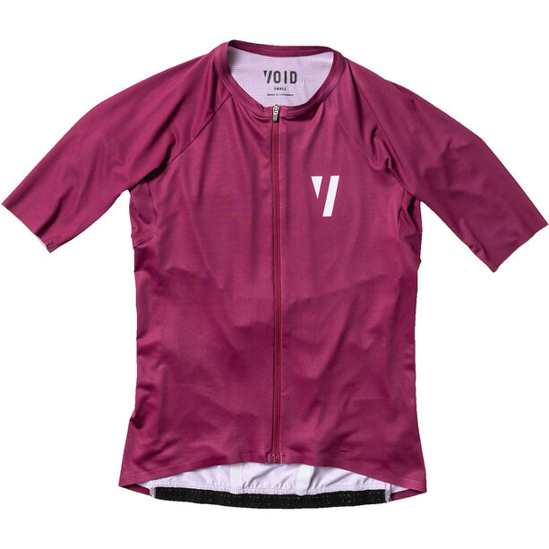 VOID Duct Kurzarm Trikot Damen tibetan red