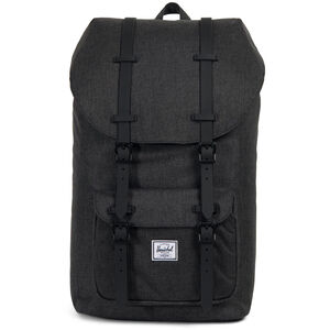 Herschel Little America Backpack black crosshatch/black black crosshatch/black