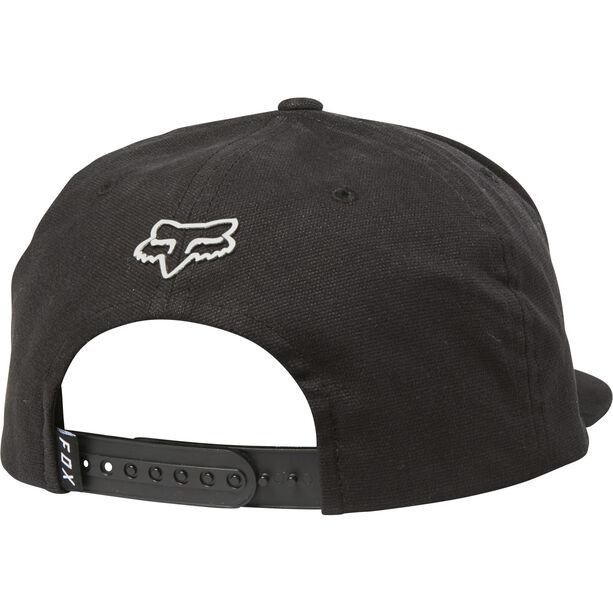 Fox Resin Snapback Hat Herren black