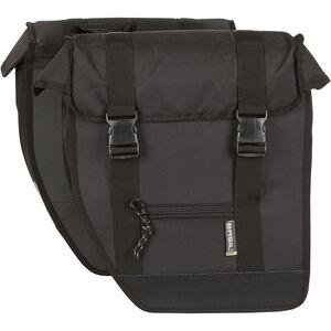Basil Tour Doppeltasche XL schwarz schwarz