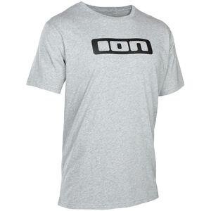 ION Logo Tee SS Herren grey melange grey melange