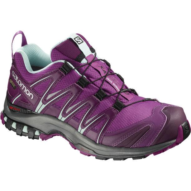 Salomon XA Pro 3D GTX Trailrunning Schuhe Damen hollyhock/dark purple/eggshell blue
