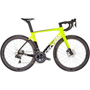 Cervelo S3 Disc Ultegra Di2 8070 fluoro/black/white bei fahrrad.de Online