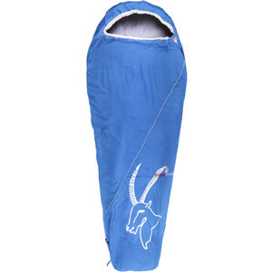 Grüezi-Bag Cloud Mumienschlafsack blau/Steinbock blau/Steinbock