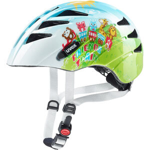 UVEX Kid 1 Helmet Kinder friends train friends train