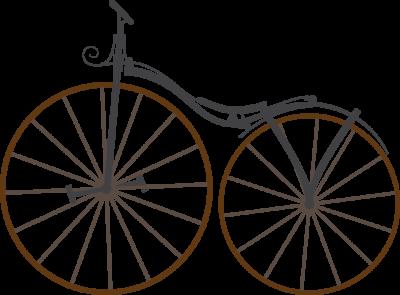 Bike Pierre Michaux erste Pedale am Fahrrad
