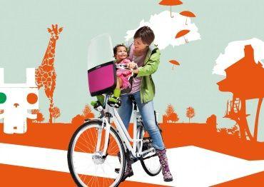 Bobike Fahrradsitz vorne