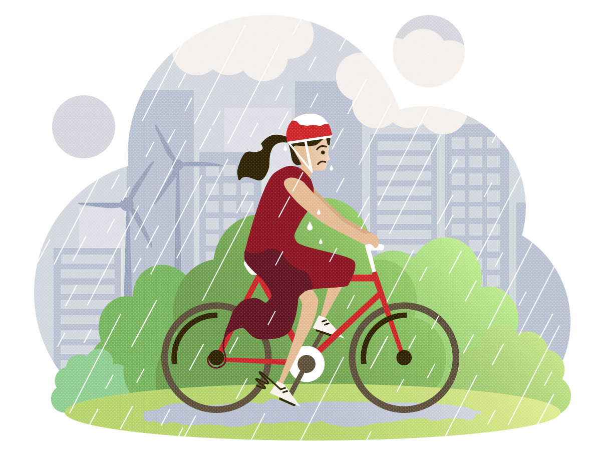 5 Ausreden nicht Rad zu fahren und warum du doch fahren solltest - schlechtes Wetter