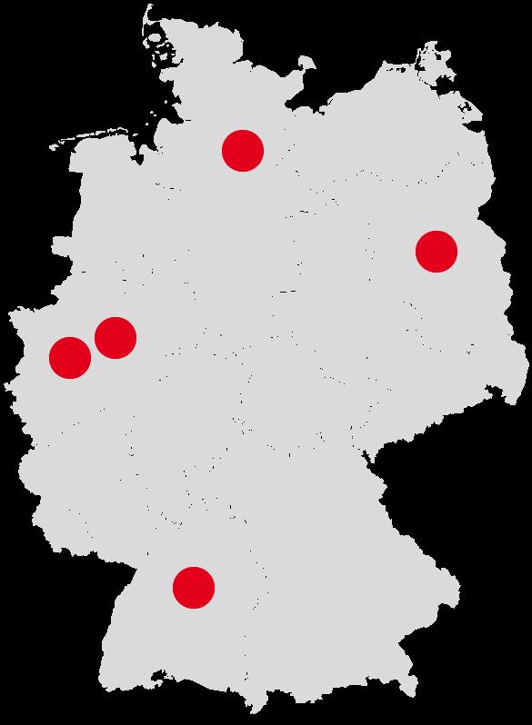 fahrrad.de Filialen Übersicht