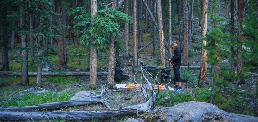 Bikepacking, Radreise Alsaksa - NewYork