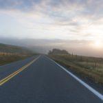 Morgens auf dem Highway - Bikepacking, Radreise
