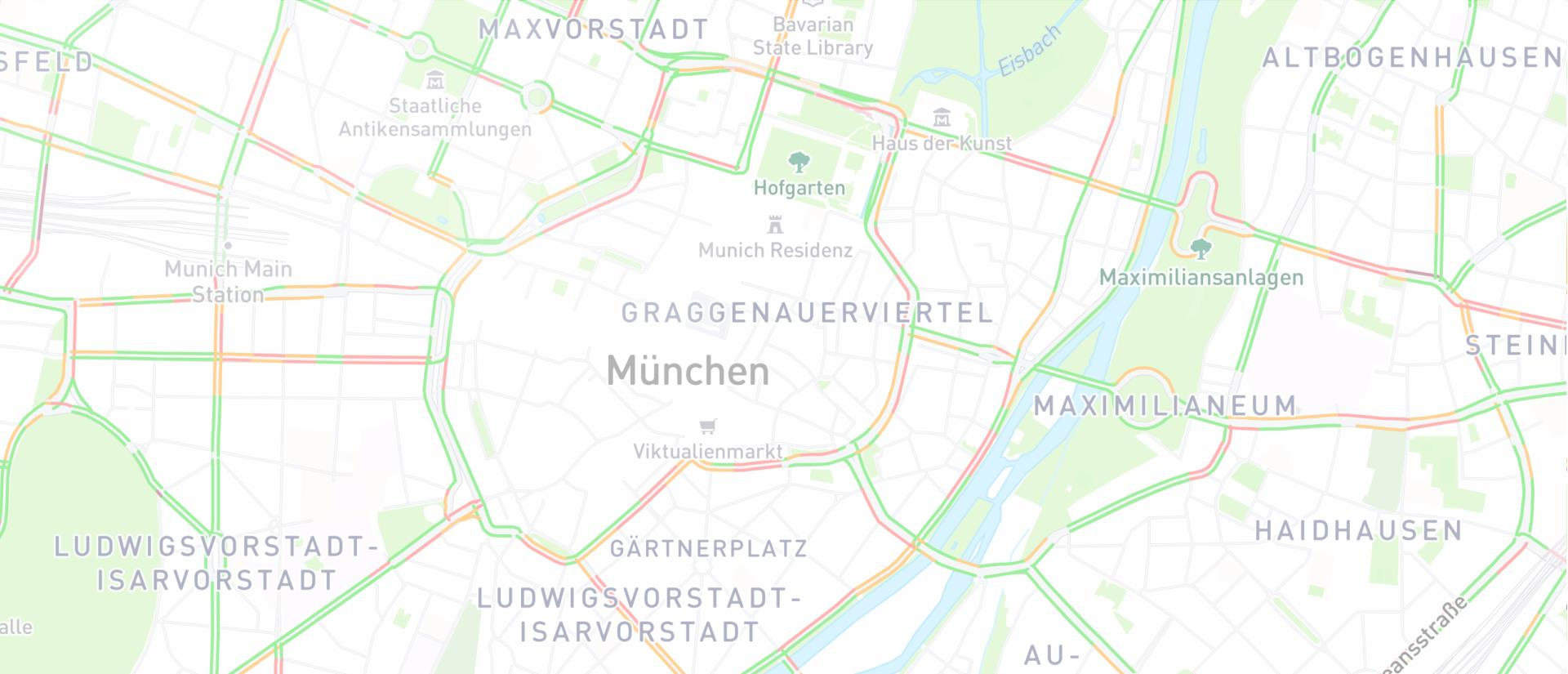 Münchens Staustraßen