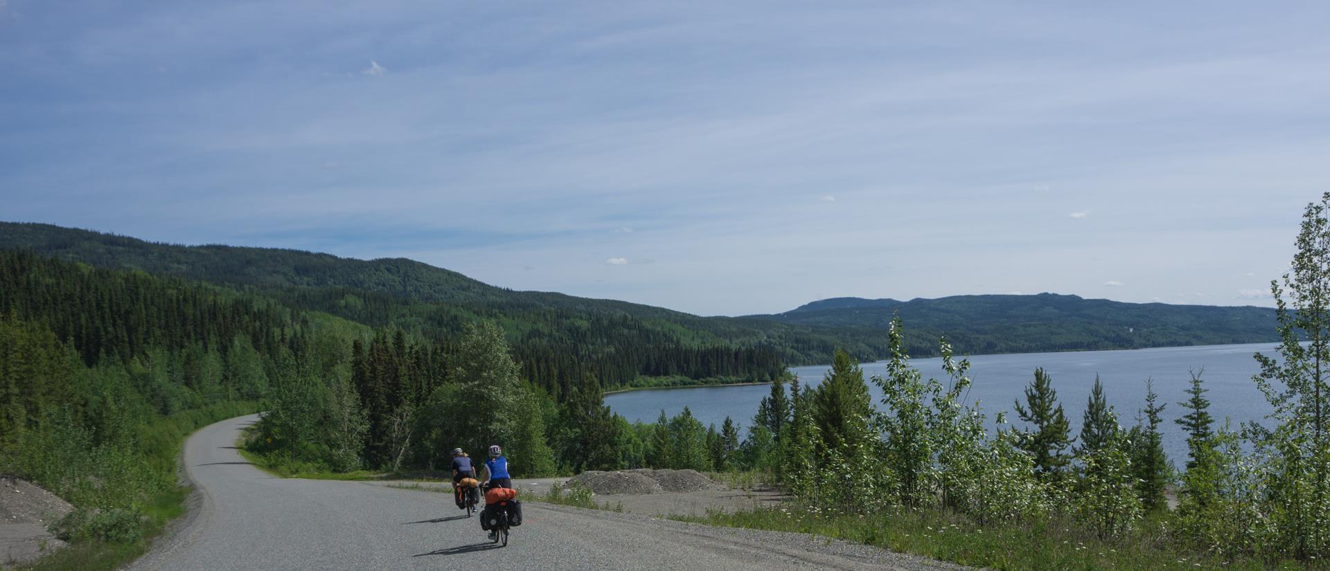 Bikepacking - Zwischenberichte
