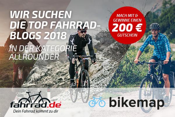 Top Fahrrad-Blog Wahl 2018 Banner