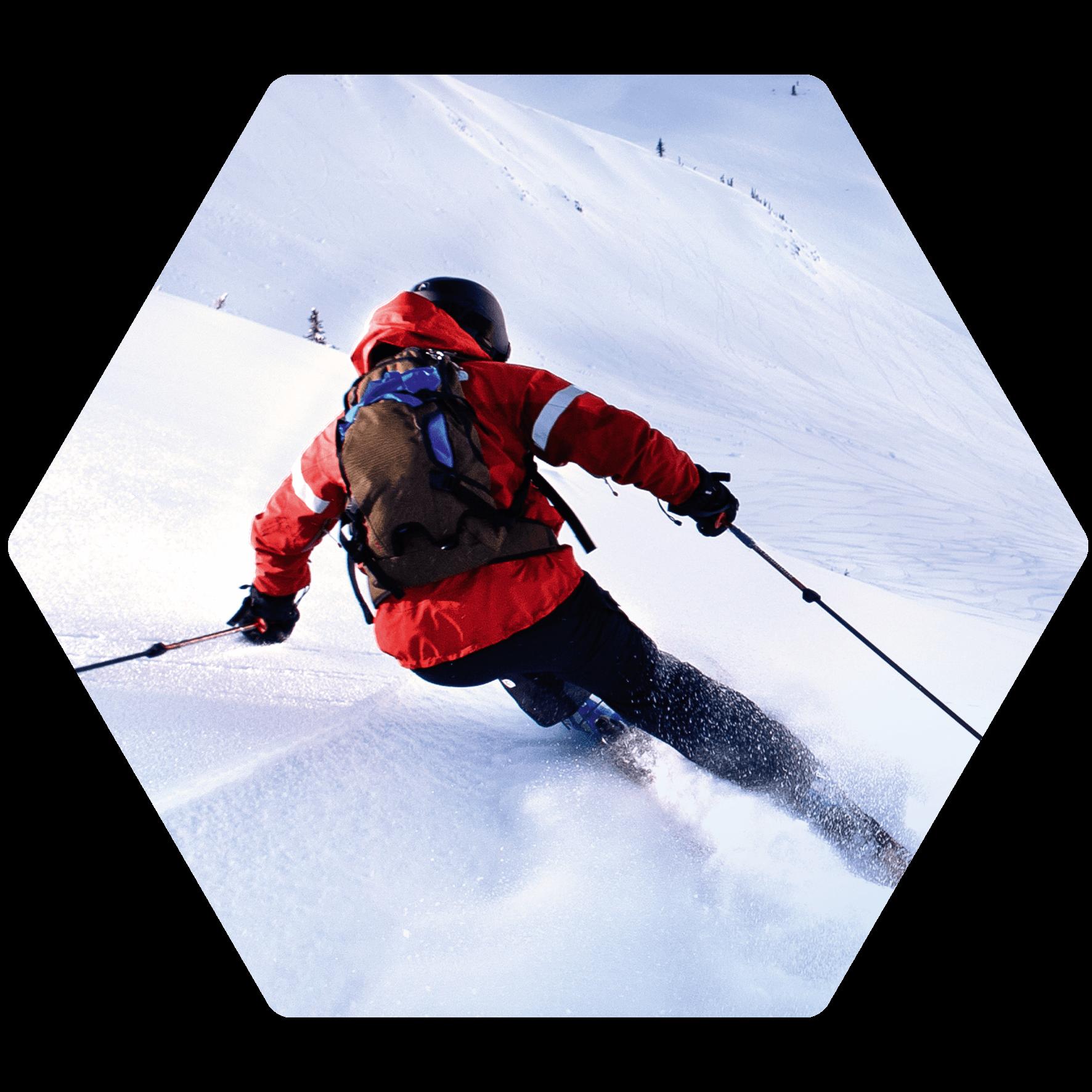 Ski fahren mit der Casio Pro Trek Smart
