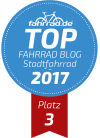 Top Fahrrad-Blog Platz 3 Stadtrad