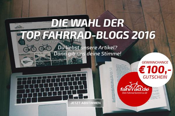 fahrrad.de Top Fahrrad-Blogs-Wahl