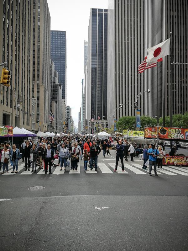Die Strassen von New York - Bikepacking