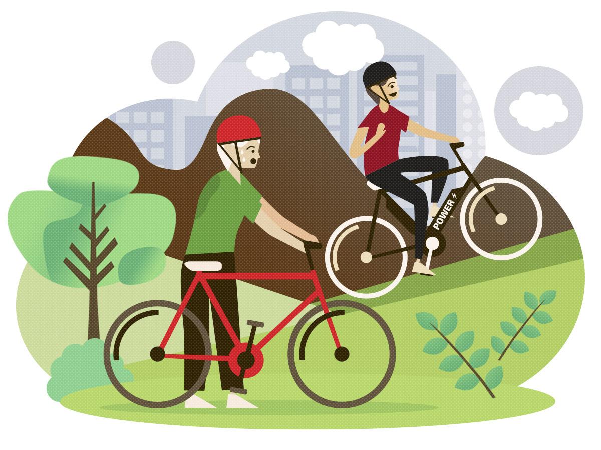 5 Ausreden nicht Rad zu fahren und warum du doch fahren solltest - zu anstrengend