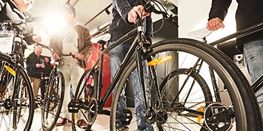 Stationärer Aufbauservice für dein Fahrrad