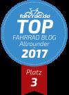 Top Fahrrad-Blog Platz 3