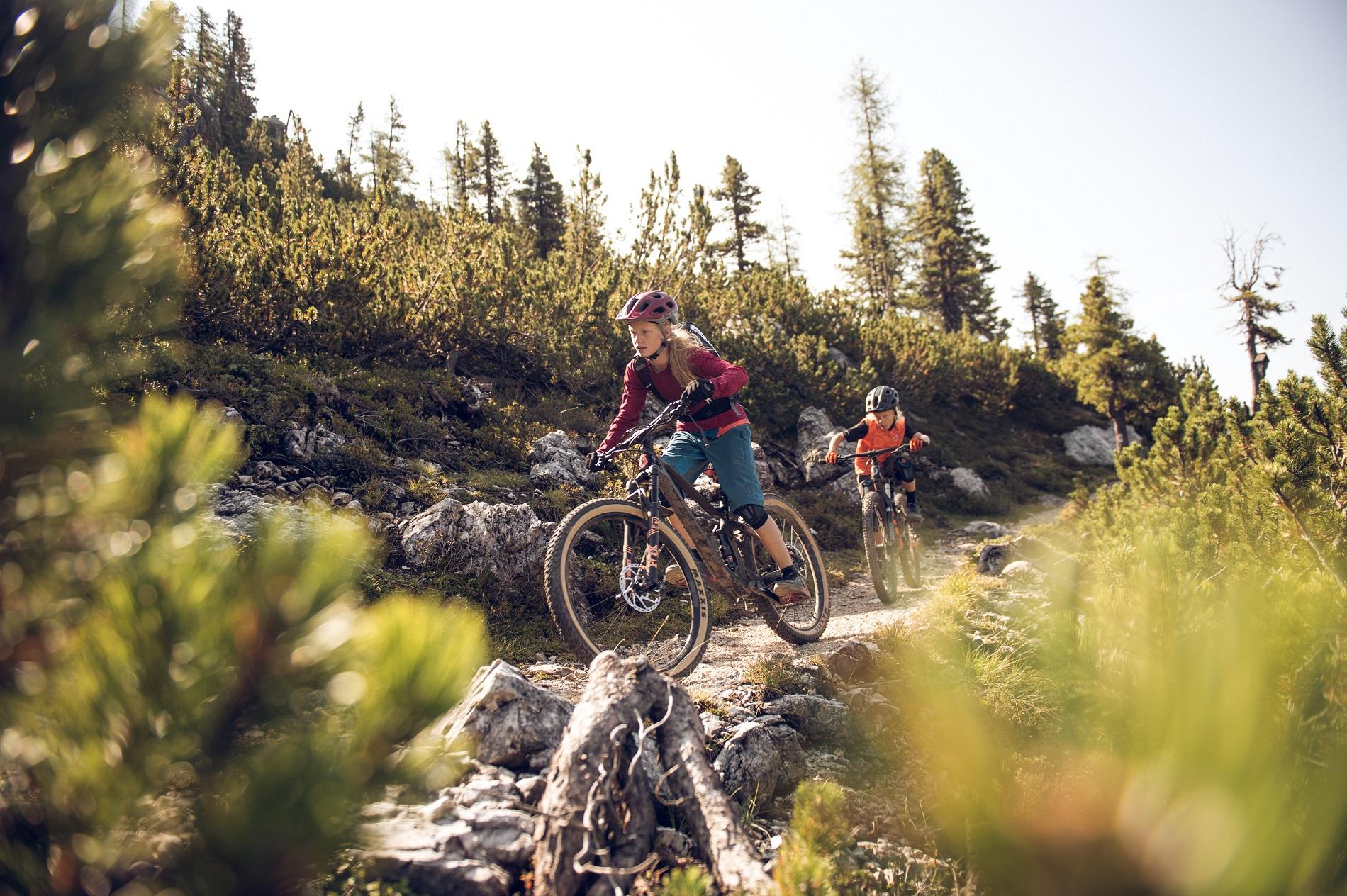 Mountainbiken mit Kids