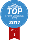 Top Fahrrad-Blog Platz 1 Kategorie Mountainbike