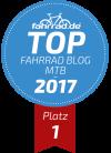 Top Fahrrad-Blog Platz 1 Kategorie Mountainbike