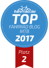 Top Fahrrad-Blog Platz 2 Kategorie Mountainbike