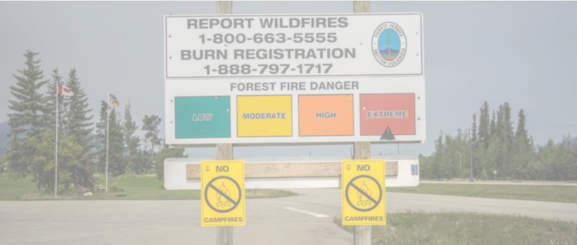 Waldbrände in British Columbia