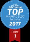Top Fahrrad-Blog Platz 1