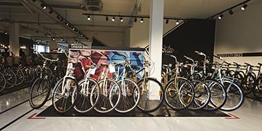 Fahrrad Abholung in unseren Filialen