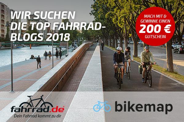 Top Fahrrad-Blogs 2018 Kategorie Stadtradlen / Fahrradpolitik