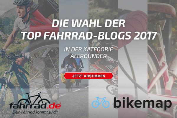 'Top Fahrrad Blog Banner Kategorie Allrounder
