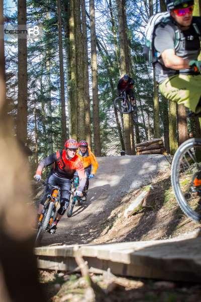 Familienfreundlicher Bikepark Samerberg