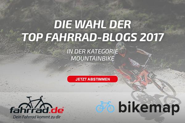 fahrrad.de Top Fahrrad-Blog Wahl 2017