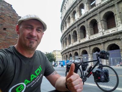 Radreise nach Rom - Interview mit Sven Marx