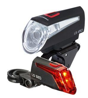 Trelock Fahrradbeleuchtung im Set