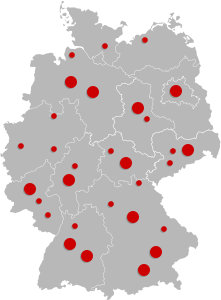 Unsere Stores in Deutschland